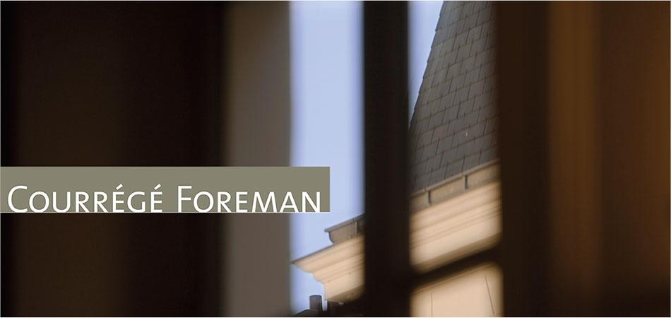 Courrégé Foreman